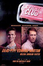 FIGHT CLUB ~ MISCHIEF MAYHEM SOAP 24x36 MOVIE POSTER Brad Pitt Edward Norton