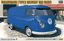 Hasegawa 1/24 Scale Model Car Kit VW Volkswagen Type 2 T1 Delivery Panel Van'67