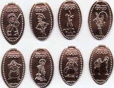 New Disneys Epcot Mexico Elongated Penny Set
