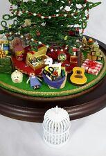 For Westrim Beaded Mini Christmas Tree * Under Tree Decor * Bird Cage w/ Bird