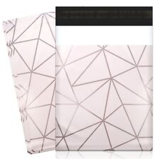 20 Classy Chic Geo & Shimmer Design 10 x 13 Poly Mailer Plastic Shipping Bag