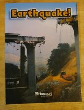 EARTHQUAKE ! Above-Level READER 4th GRADE 4 SCIENCE HARCOURT HOMESCHOOL NEW