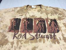 Rod Stewart Xl T-Shirt Rock Blues Jazz Singer Band Standards Pop Folk Lounge
