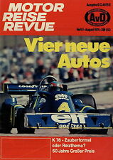 Motor Reise Revue 8 1976 Chrysler 2 L Wohnwagen Eriba Titan Test Inez Muhle