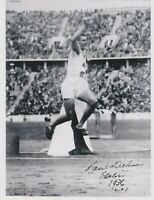 Basil Dickinson   **HAND SIGNED**   10x8 photo  ~  Olympics  ~  AUTOGRAPHED