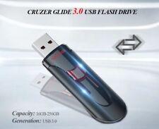 Clé USB 16 Go SanDisk CZ600 Cruzer Glide USB 3.0 Memory Lecteur Flash Drive