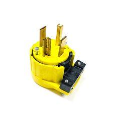 5746-AN Pass & Seymour Angle Plug, 30A 125/250V, SJ & SV Cord, Nema: 14-30P