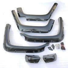 ASI Front Rear Fender Flares Pocket Rivet Style For 07-15 Toyota Land Cruiser FJ