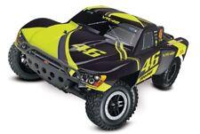 TRAXXAS Slash RTR 1/10 2.4GHz +12V-Lader Brushed, TQ Short Course VR46-Edition