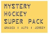MYSTERY HOCKEY SUPER PACK / CARDS | Graded Auto #'d & Jersey Hits | $125-$350 BV