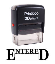 Printtoo ENTERED Self Inking Rubber Stamp Office Stationary Stamp Ink-PRSS110