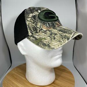 Georgia Bulldogs Trucker Hat Zephyr Camouflage One Size Gray Black Hook Loop