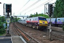 PHOTO  CLASS 91 NO 91 101 (EX-'CITY OF LONDON') OF EAST COAST IN FLYING SCOTSMAN