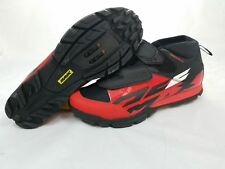 NEW Mavic Deemax Elite Clipless Cycling Shoes Red/Black US 9 EU 42 2/3 Reg$154