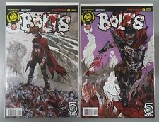 Set of 2: Bolts #1 - Regular & Variant Cover - Whynot Action Lab Danger Zone Vf