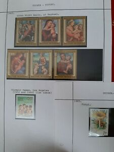Guinea Bissau : 1980's  99 x Different Stamps mixed conditions