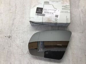 Mercedes Benz OEM Driver Side Exterior Door Mirror Glass 099-810-13-16