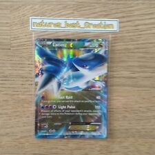 EX Condition Latios EX 58/108 Holo/Shiny, Pokemon Card, Roaring Skies