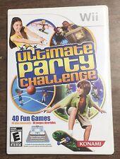 Ultimate Party Challenge Bundle w/Dance Pad * Mini-Games * Konami * Nintendo Wii