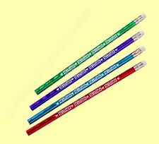 4 Prizm Colored Pencils With Gymnastics and Heart Logos - Cool Party Favors
