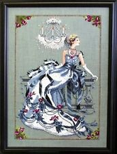 """SALE! COMPLETE XSTITCH KIT """"CRYSTAL SYMPHONY"""" by Mirabilia"""
