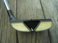 SlotLine Inertial Black Chipper Golf Club Right Hand Stock Steel Shaft and Grip