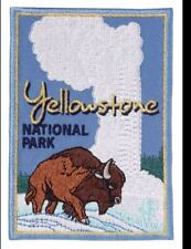 BOY SCOUT LICENSED YELLOWSTONE NATIONAL PARK JACKET PATCH JAMBO CAMP OA TRADING
