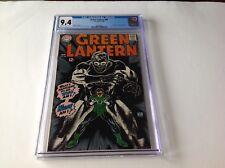 GREEN LANTERN 58 CGC 9.4 AWESOME COVER ART 1ST EVE DOREMUS GIL KANE DC COMICS