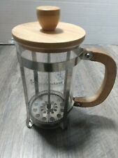 Master Class premium collection Coffee Press Maker Wood Handle