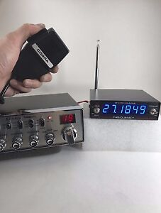 WIRELESS or INLINE FREQUENCY COUNTER 6 DIGIT W/ AC ADAPTER CB Radio DELTA DFC100