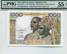 WEST AFRICA STATES  303Co  --  CU  --  1965  --  PMG 55EPQ