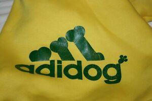 Scheppend Adidog Dog Sweater Jumpsuit Coat Many Sizes & Colors MEDIUM BREEDS