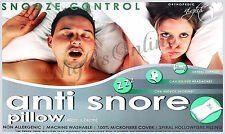 Luxury Anti-Snore Snooze Control, Head Support HollowFibre Pillow