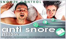 LUXURY anti-snore SNOOZE control, supporto testa hollowfibre Cuscino