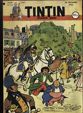 Journal Of Tintin France 114 The 28 Decembre 1950 Cover LB