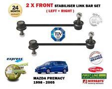 para Mazda Premacy 1.9 2.0 TD 1999-2005 2x Barra de Enlace Estabilizador
