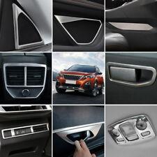 Interior Accessories Whole Kit Cover Trims 28pcs For Peugeot 3008 GT 2016 - 2019