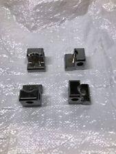 Hannay Chrome Hose Reel Roller Mounting Blocks (QTY 4)