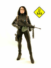 JJ KITS custom* 1/6 scale - sexy ISOLINA and the M249 Machine Gun