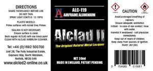 ALCLAD2, ALC119 AIRFRAME ALUMINIUM