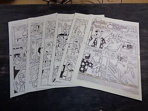 Original Art Story (Archie 439) 6 Pgs COMPLETE! S. GOLDBERG; 1995 (ART#0304)