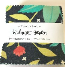 "Midnight Garden by One Canoe Two - Moda  - fabric MINI Charm Pack - 2.5"" squares"