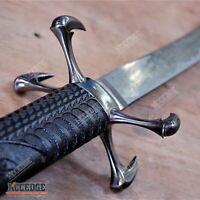 "42"" Dragon SAMURAI KATANA Japanese Sword with Carbon Steel Blade Wood Scabbard"