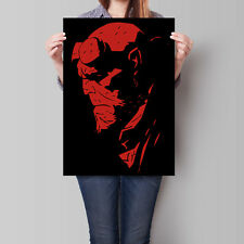 Hellboy Poster Wall Art 16.6 x 23.4 in (A2)