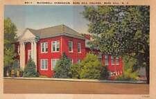 Mars Hill North Carolina Mars Hill College McConnell Gymnasium Postcard J56438