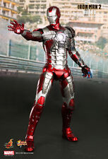 Hot Toys Iron Man 2 Mark V 5 MMS 132 FactSeald frm Sideshow 1/6 Figure Statue