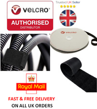 VELCRO® Brand ONE-WRAP® 20mm Cable Tie Black Double Sided Hook / Loop Strapping