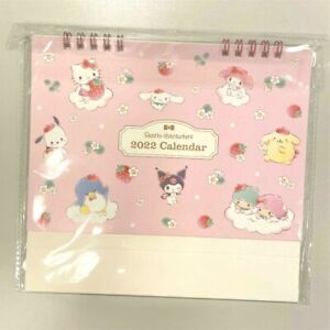 sanrio characters 2022 desk calendar JAPAN NEW