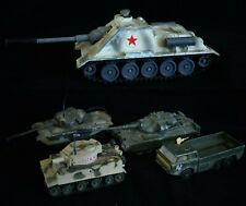 Collection of 5 Corgi Toys Metal Model Tanks & Military Vehicles  - Collectables