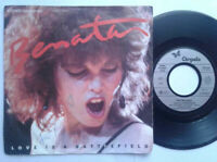 "Pat Benatar / Love Is A Battlefield 7"" Vinyl Single 1983 mit Schutzhülle"